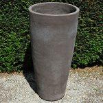 Colorato terracotta pot vaso vinci
