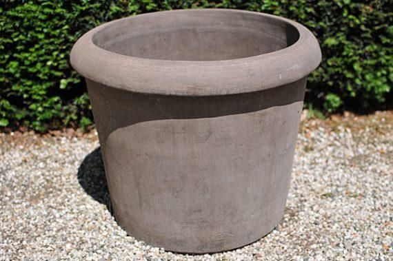 Colorato terracotta pot conca enrico liscia