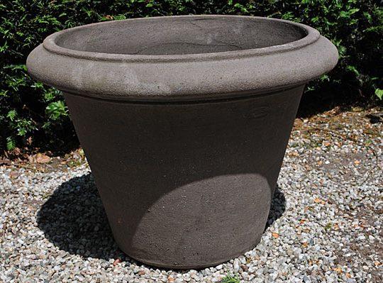 Colorato terracotta pot vaso ls liscio