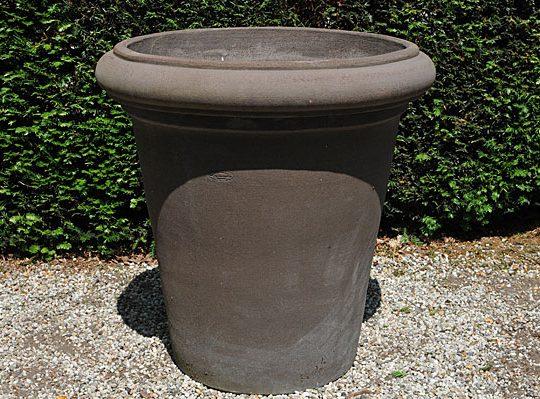 Colorato terracotta pot vaso camelia