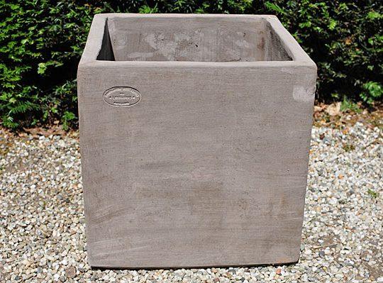 Colorato terracotta pot cubo senza bordo