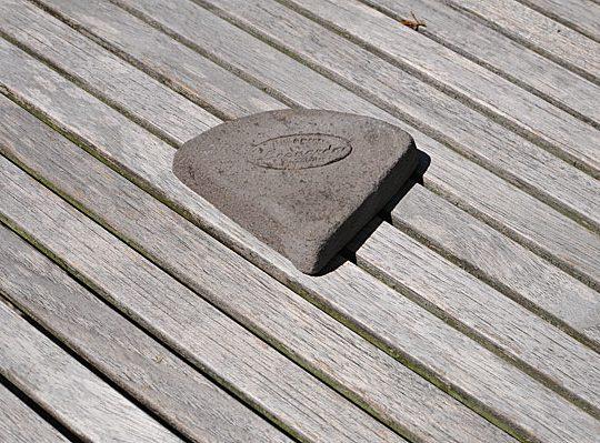 Colorato terracotta voetje piedino tozetto