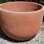 Terracotta pot vaso giulio